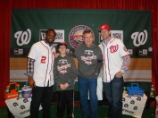 Dad and I with Denard Span and Ryan Mattheus